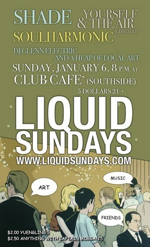 January 6 Liquid Sunday Flyer