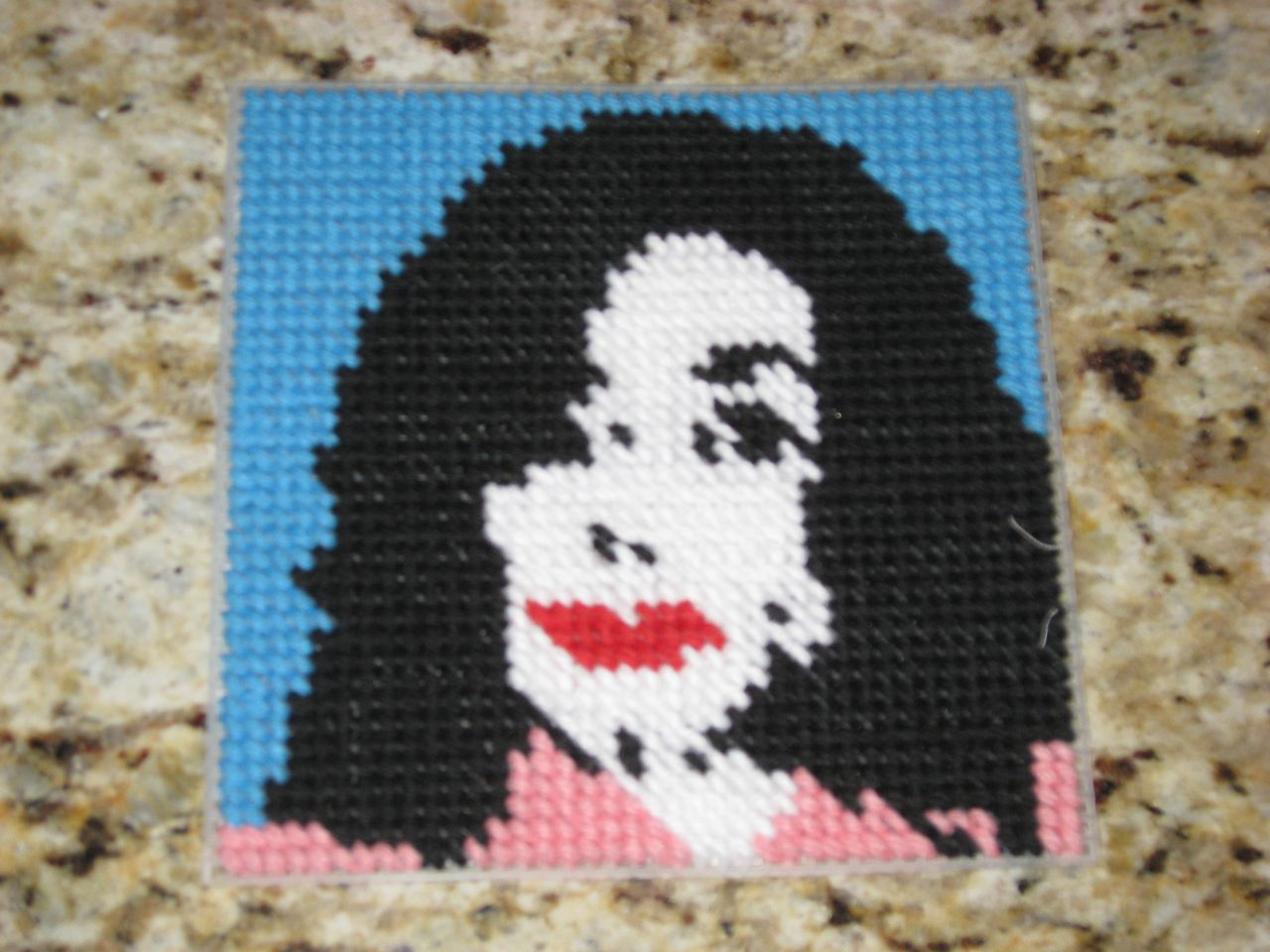 Michael Jackson Cross Stitch