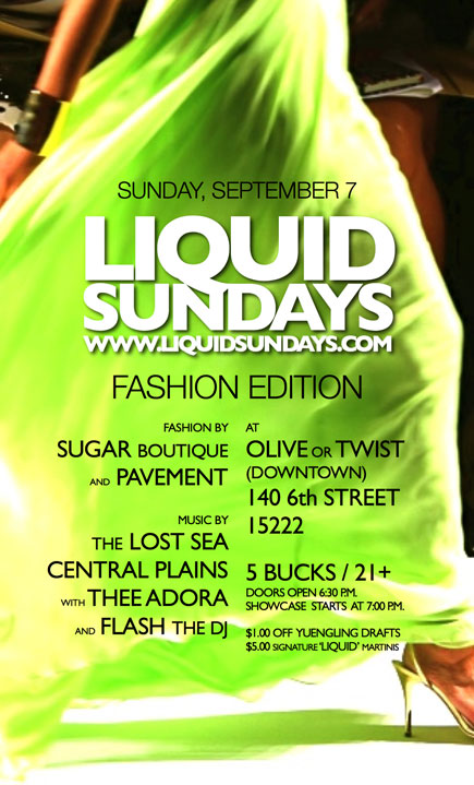 Liquid Sundays Fashion Edition myspace.com/liquidsundays