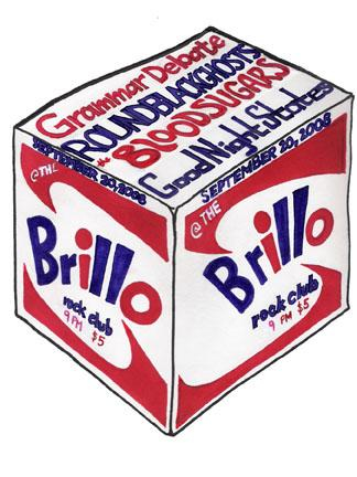 Brillobox Flyer