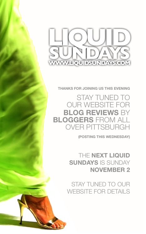 Liquid Sundays Flyer