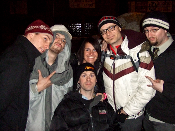 MC Frontalot and crew and Sarah - Geekstar!