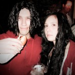 Meg and Jack White of the White Stripes