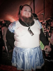 Bearded Lady or Alice in Wonderland?