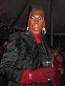 OMG...It's Grace Jones!