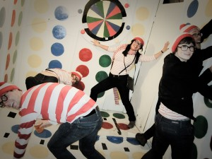 Where's Waldo? Playing Twister!